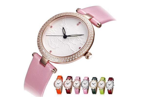 稳达时礼品手表厂家女士手表