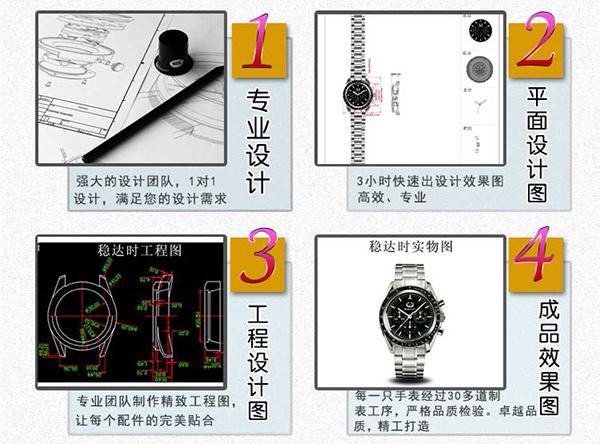 稳达时手表定做厂家设计图