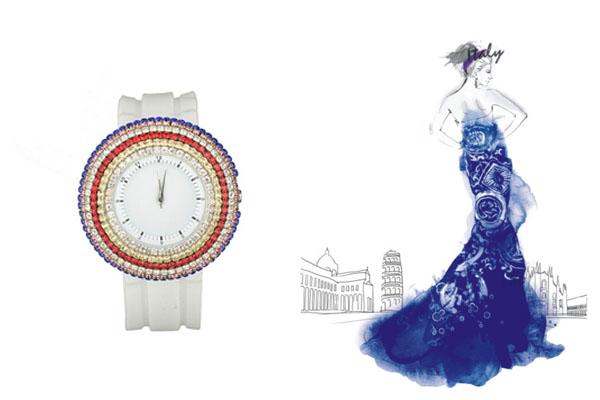 稳达时手表定制厂家时尚女士手表