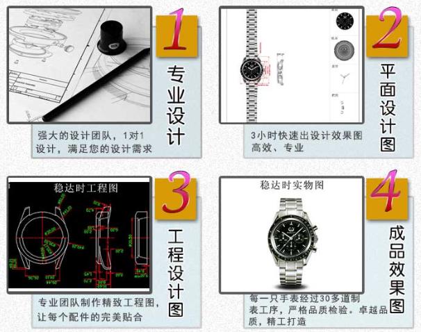 广东手表生产商专业定制手表