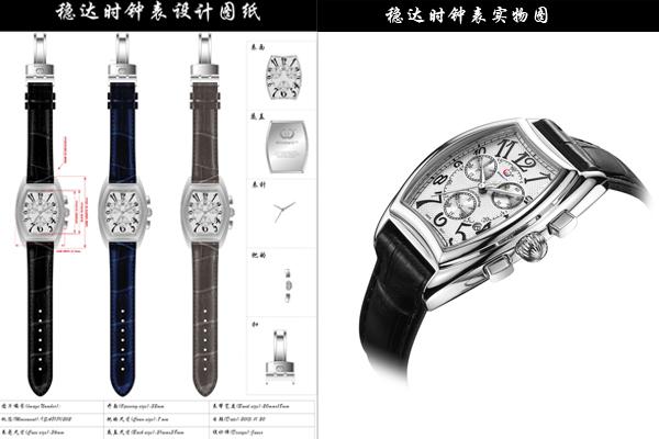 稳达时手表厂家设计图