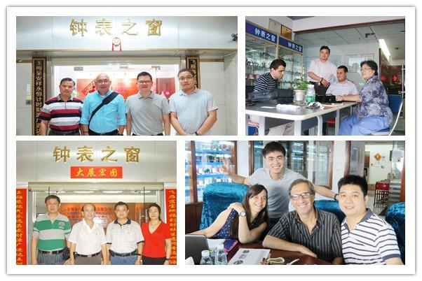 深圳手表厂家客户案例
