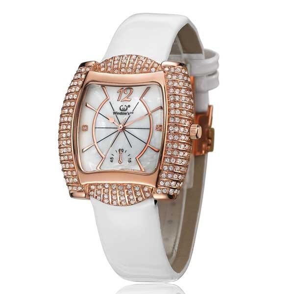 CA88亚洲城老虎机_手表批发厂家供应镶钻石英皮带女士手表_CA88亚洲城老虎机客户端下载