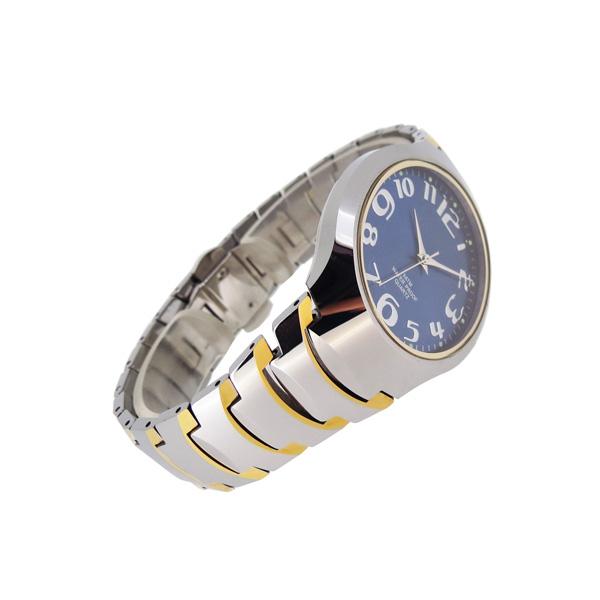 稳达时大字面老年人钨钢手表定制工厂