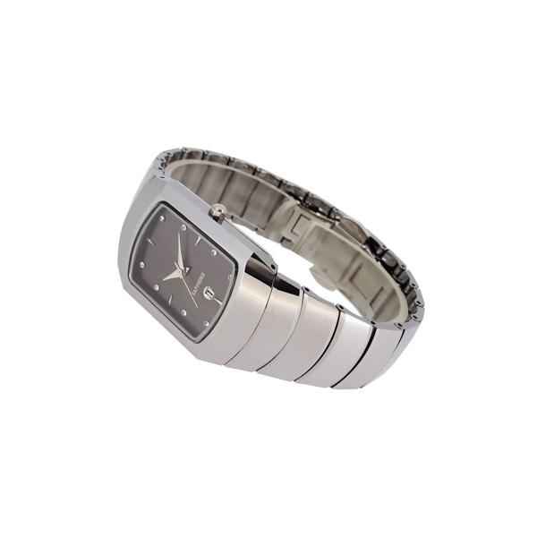 稳达时商务经典钨钢手表定做厂家