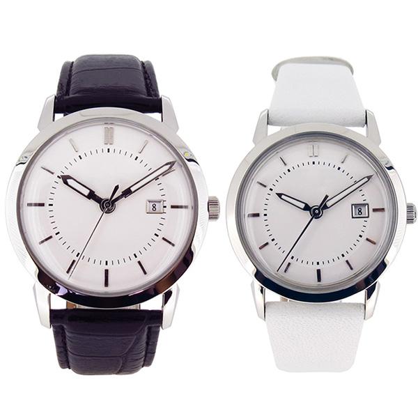 稳达时简约时尚不锈钢礼品手表定制厂家