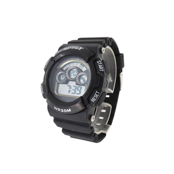 稳达时多功能塑胶电子手表定制工厂