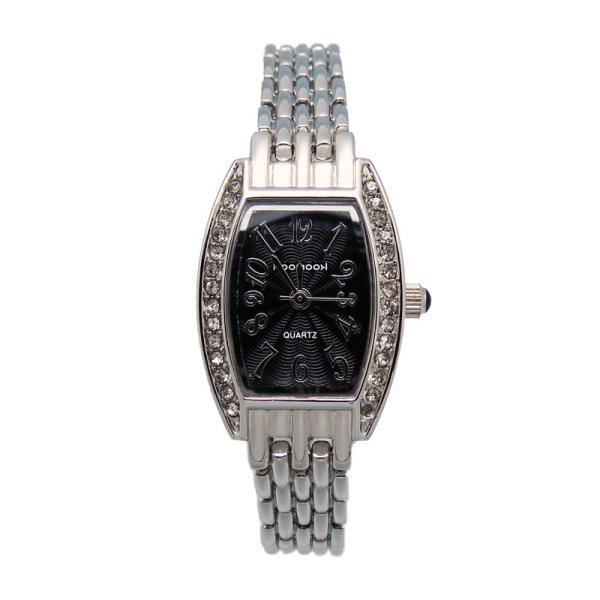 深圳手表定制厂家定制女式合金镶钻时装手表