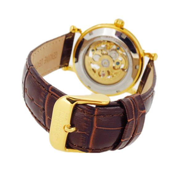高端大气不锈钢壳镂空机械手表定制厂家