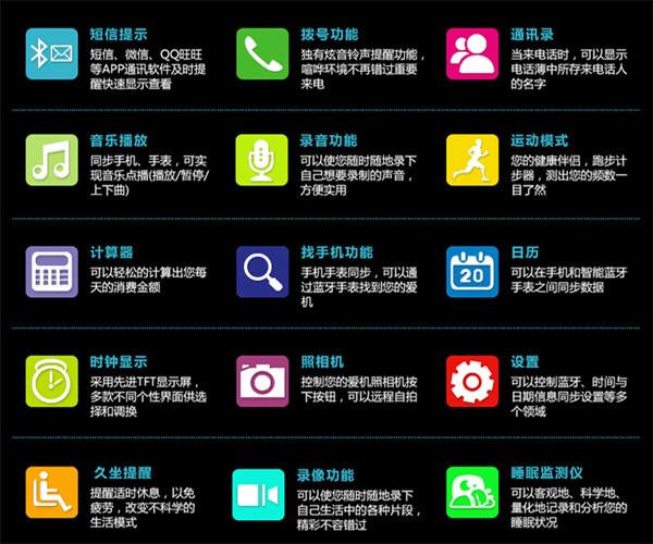 深圳智能手表代工厂供应视频智能手表加工定制