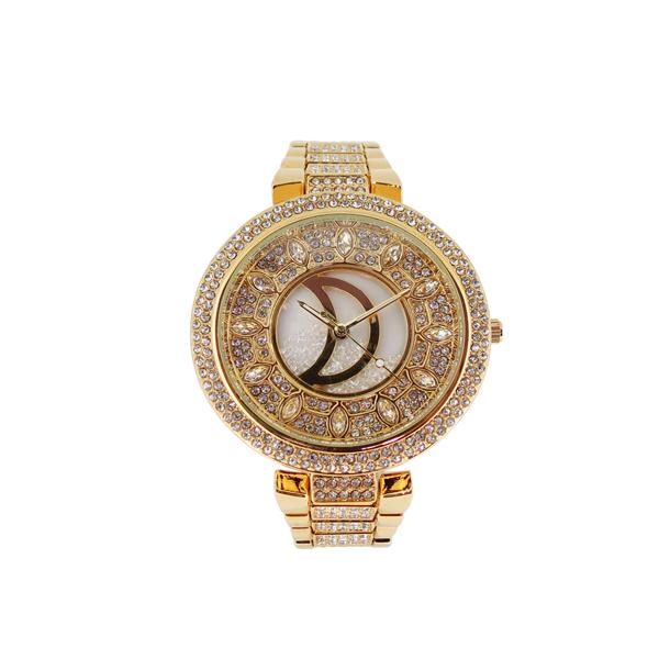 时尚镶钻女士手表生产厂家