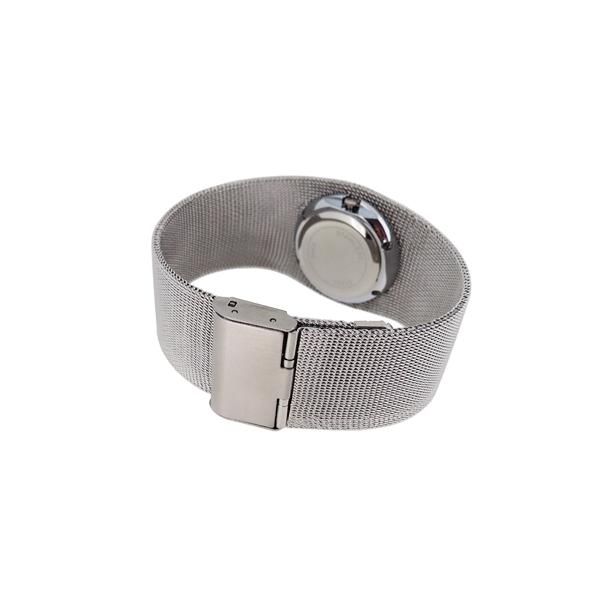 手表生产厂家供应不锈钢钢网织带女士手表定制