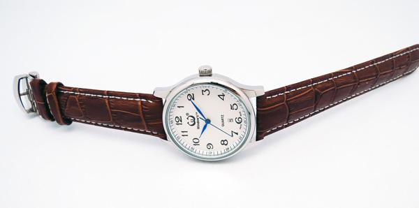 手表定制厂家供应经典男装不锈钢商务手表定制【稳达时钟表】