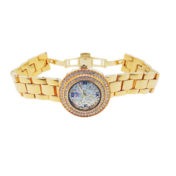 深圳手表批发厂家供应铜壳铜带时尚手表批发【稳达时钟表】