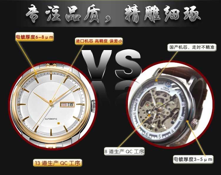 个性定制手表_稳达时高端不锈钢礼品手表厂家直销