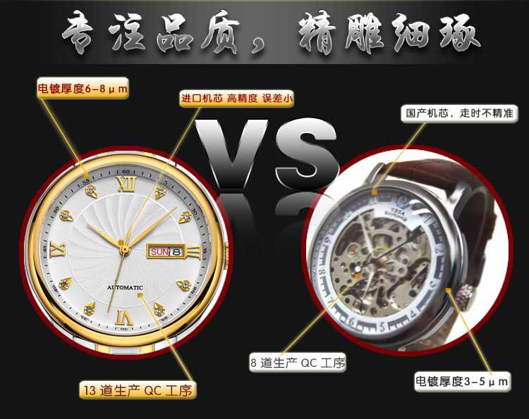 经典款不锈钢套装手表定制_稳达时来厂考察免费接送