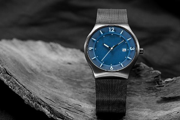 干练型不锈钢米兰表带——稳达时手表生产厂家专供